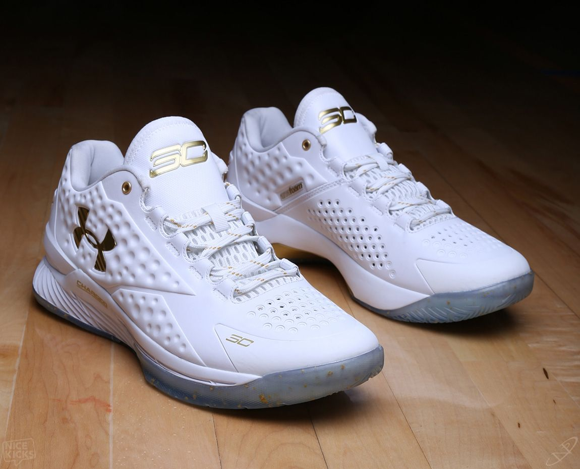 under armour curry one gold blue