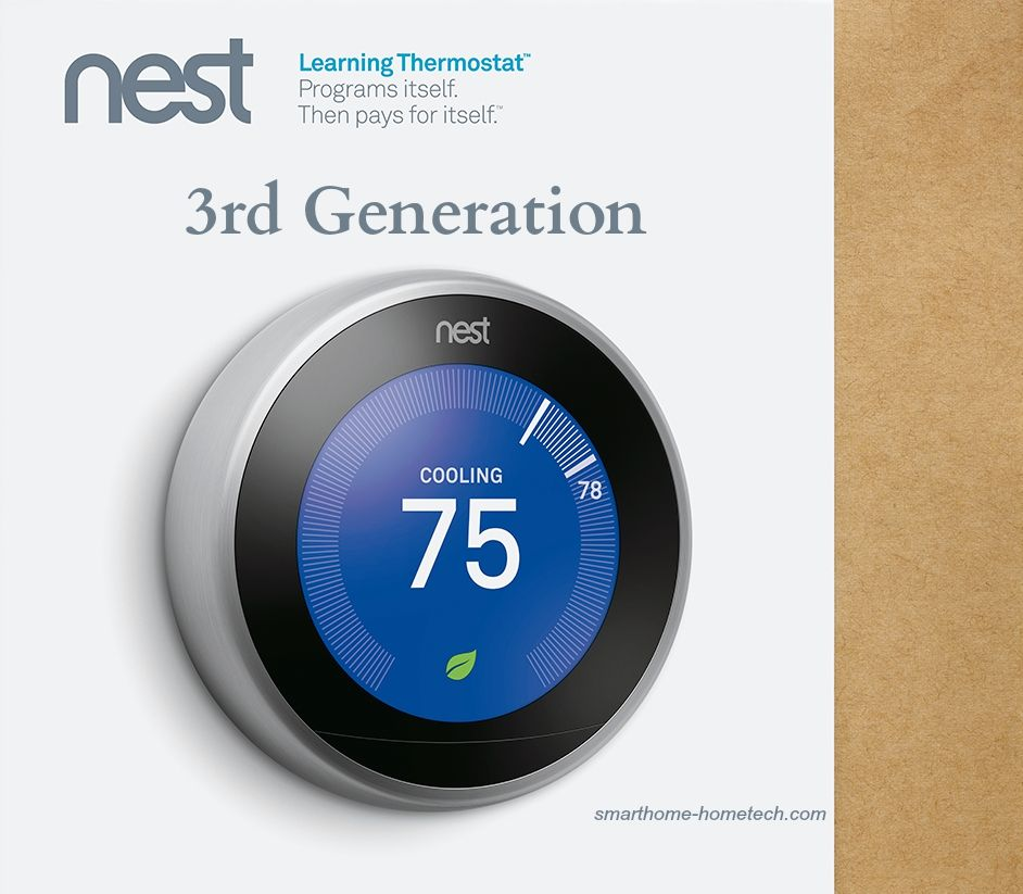 Google Nest Review 3rd Gen Learning Thermostat Smart