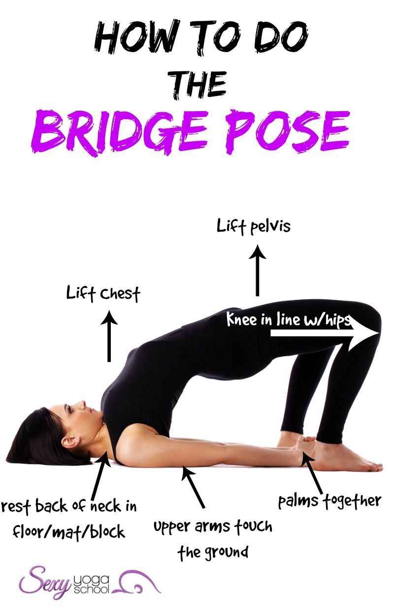 picture How to Do a Bridge Exercise With an Exercise Ball