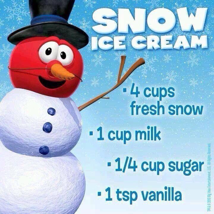 Snow Day Make Some Snow Ice Cream Snowday Icecream Snowicecream Snow Cream Snow Ice Cream Snowcream Recipe