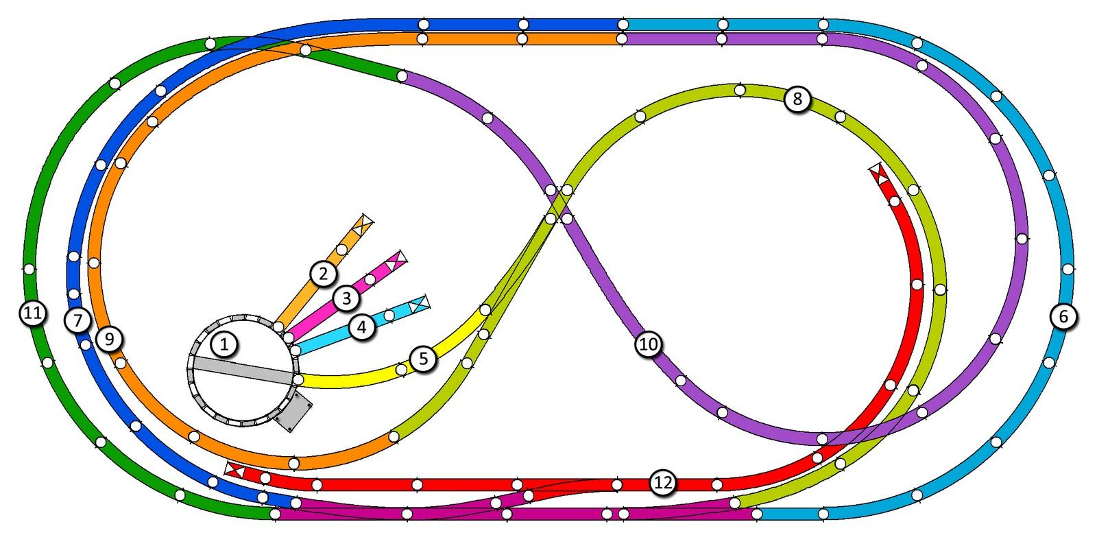 hight resolution of rr train track wiring created with atlas right track software i then imported this