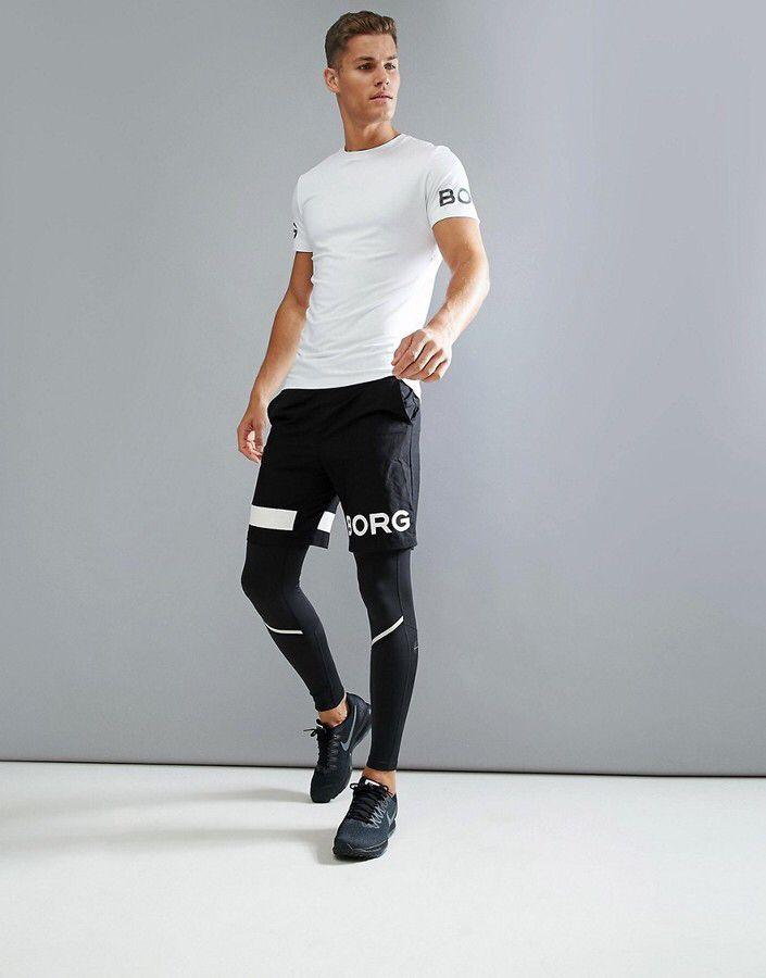 Black Men's Running Tights, Compression Tights, cold weather running,  jogging pants, compression leggings, training leggings, gym pants, yoga  pants…