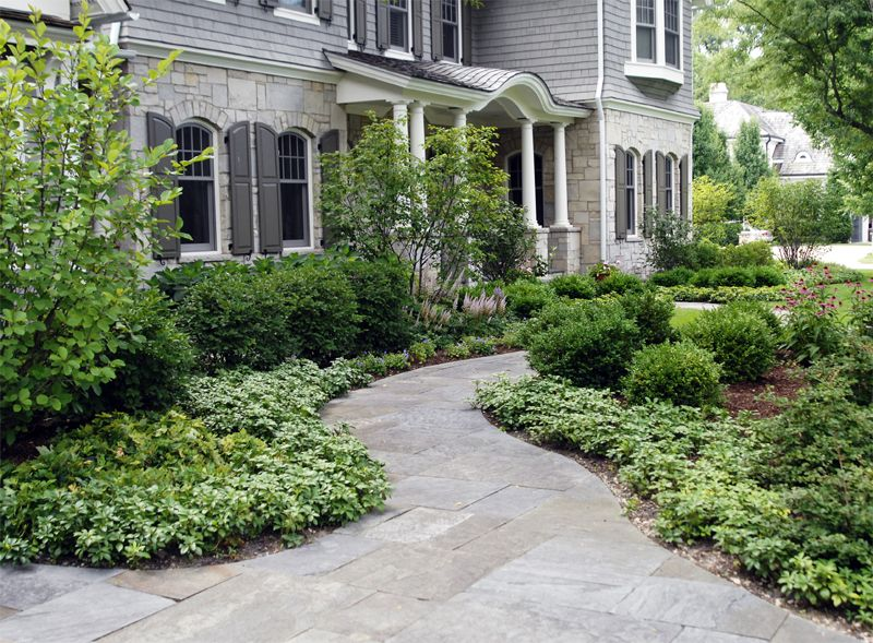 Colonial revival landscape design google search for Colonial landscape design