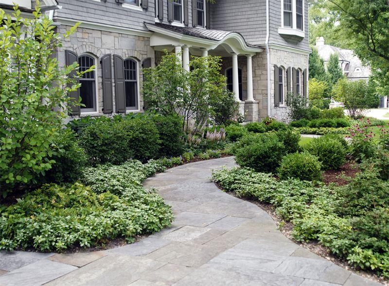 Landscape Design Front Of Colonial House Part - 43: Colonial Revival Landscape Design - Google Search