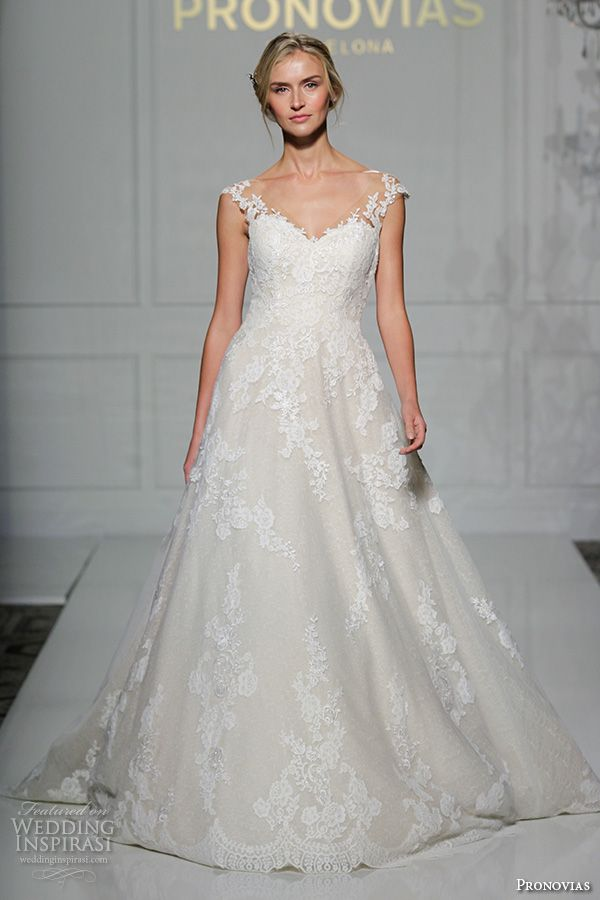 Lace Weddings Ovias 2016 Bridal Gowns Beautiful A Line