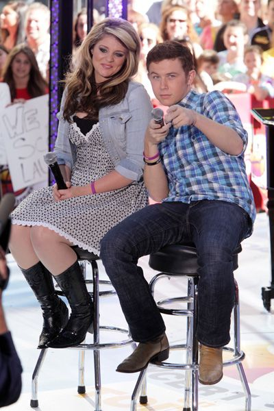 Scotty McCreery and Lauren Alaina perform on Today Show ...