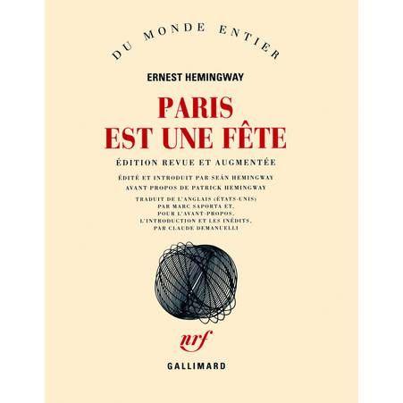 « Paris est une fête » d'Ernest Hemingway - 25 cadeaux cool à moins de 50 euros - Elle