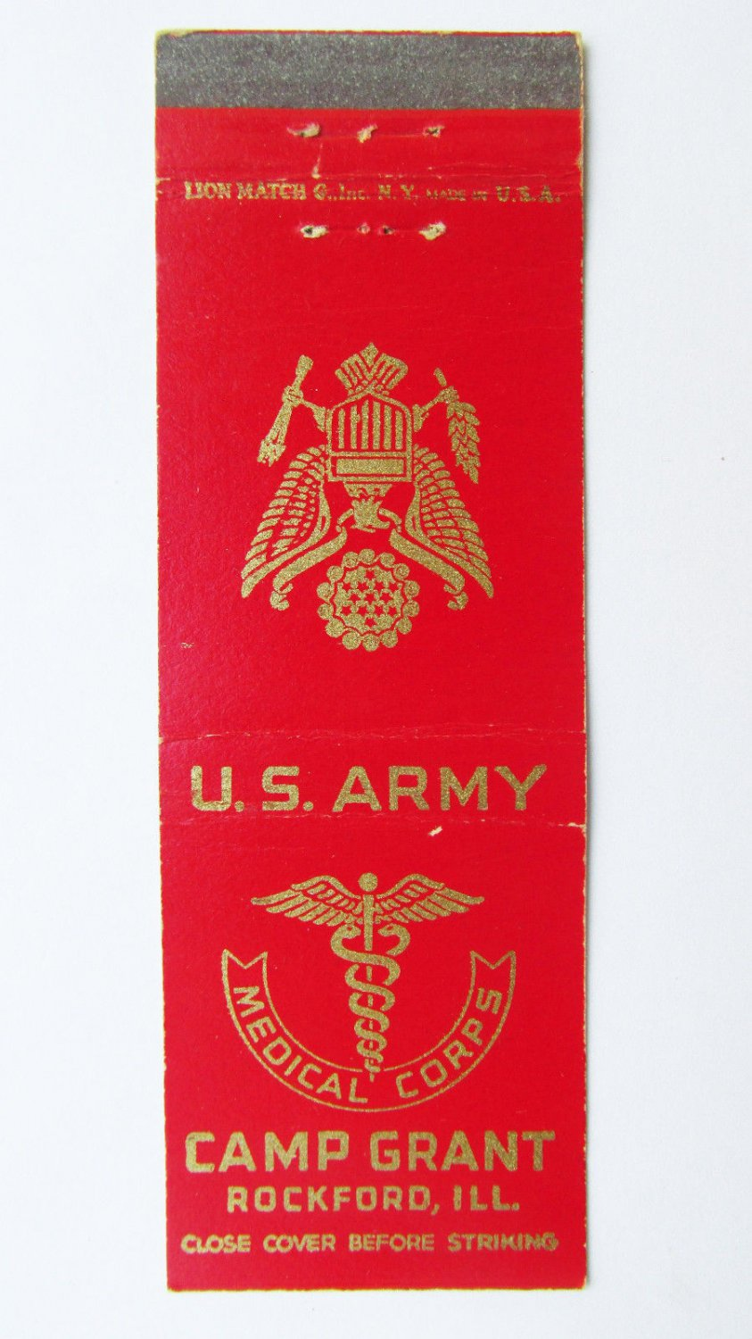 Pin on Military Matchbook Covers