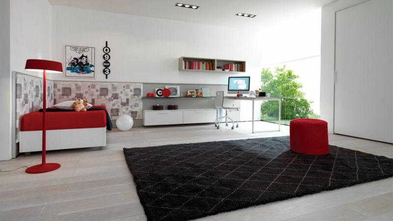 moderne jugendzimmer komplett gestalten | kinderzimmer, Wohnideen design