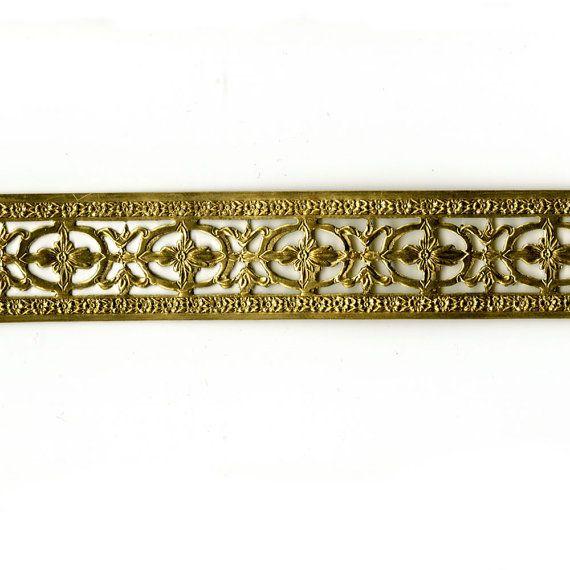 6 Fl Border Br Banding Bezel Making Jewelry Decorative Metal Lamp Repair