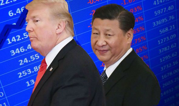 TRADE WAR: US and China risk sparking NOSEDIVE in global growth  OECD