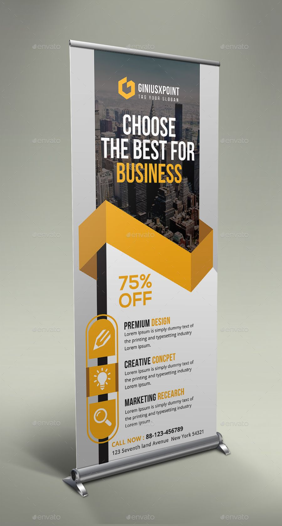 Corporate Roll Up Banner Bundle #Roll, #Corporate, #Bundle ...