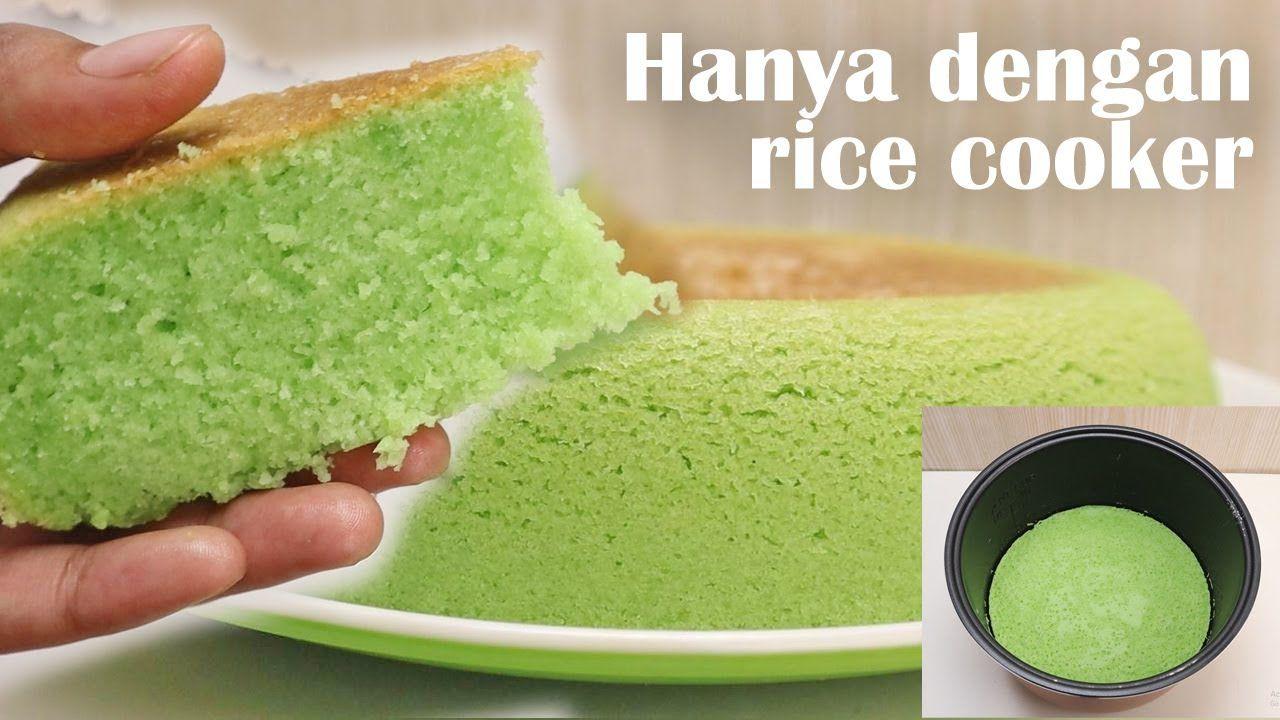Modal Rice Cooker 2 Telur Bisa Buat Bolu Pandan Anti Gagal Wajib Coba Youtube Di 2020 Makanan Ringan Manis Makanan Resep Kue