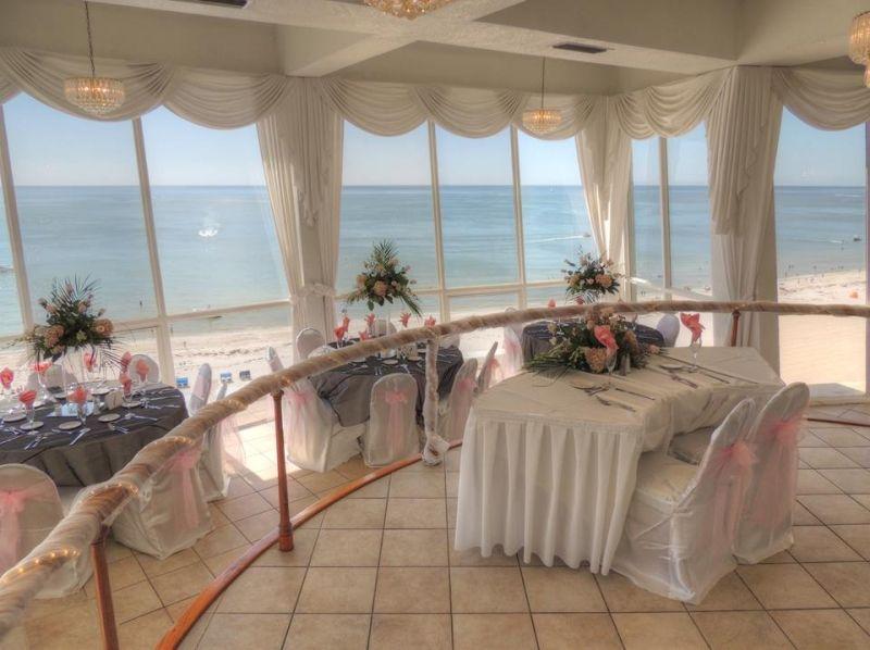 St Pete Beach Weddings Florida Grand Plaza Resort And Hotel Beachfront