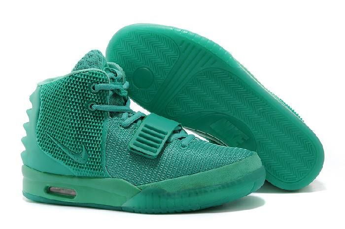 new style c1b19 4ed80 Dobry Nike Air Yeezy 2 2014 Dunk High Green Lantern Buty Damskie