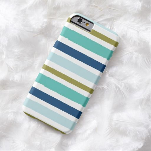 iPhone 6 Cases | Blue Stripes iPhone 6 Case