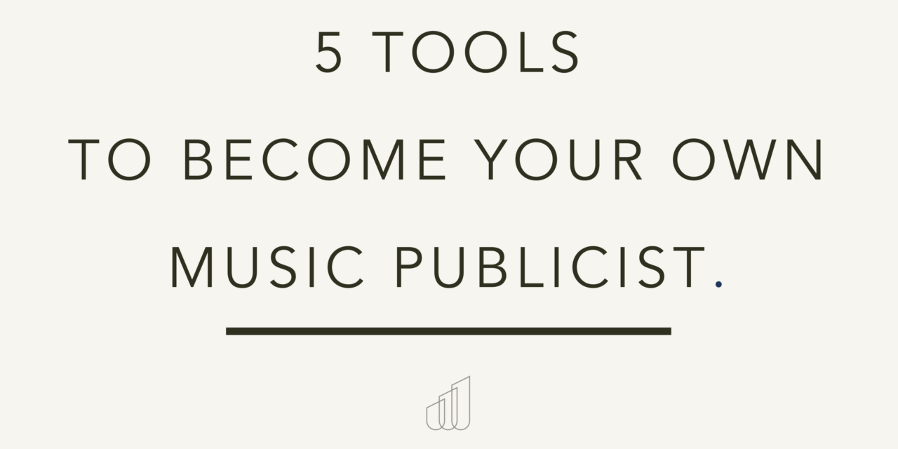 5 Tools to Your Own Music Publicist (With images