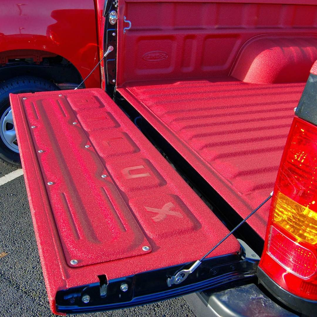 Line X Uk On Instagram Coloured Linex No Problem Thus Red Line X Bed Liner Looks Ace On This Black Toyota Hilux Bed Liner Trucks Chevy Trucks