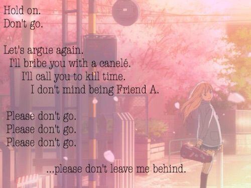 your lie in april quotes - Google pretraživanje | Anime ...