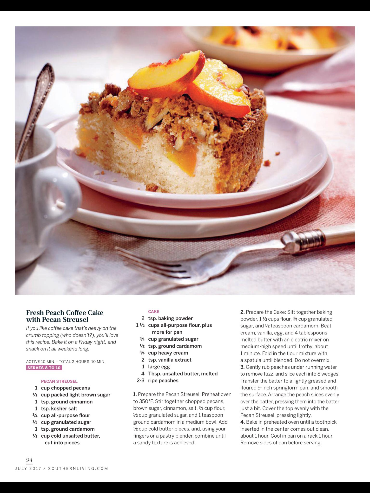 the SWEET spot from Southern Living July 2017 Read it on the