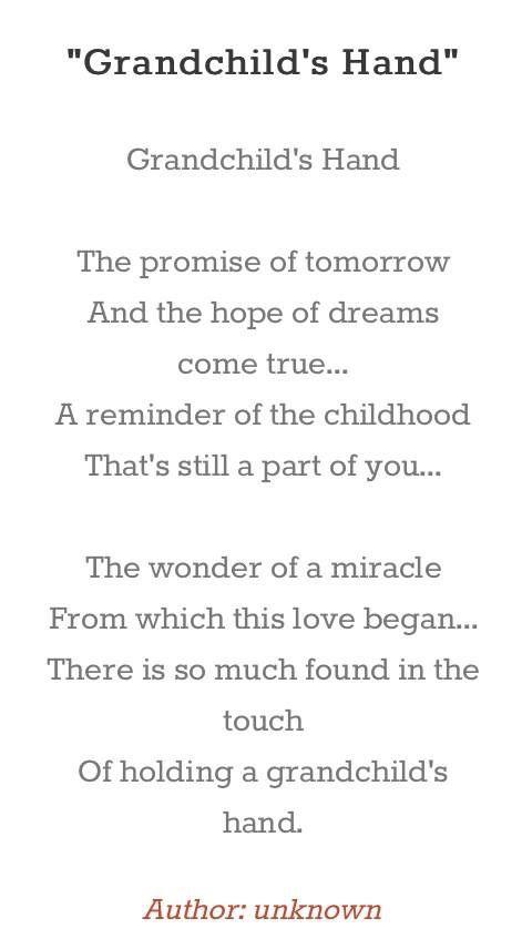 Grandchildren Poems 5