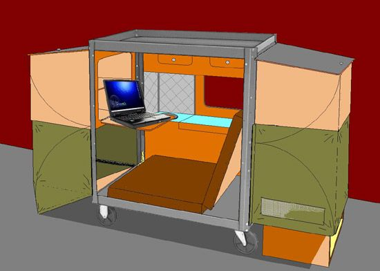 Mobile Homeless Shelter Tiny House Design House Design Shelter Design