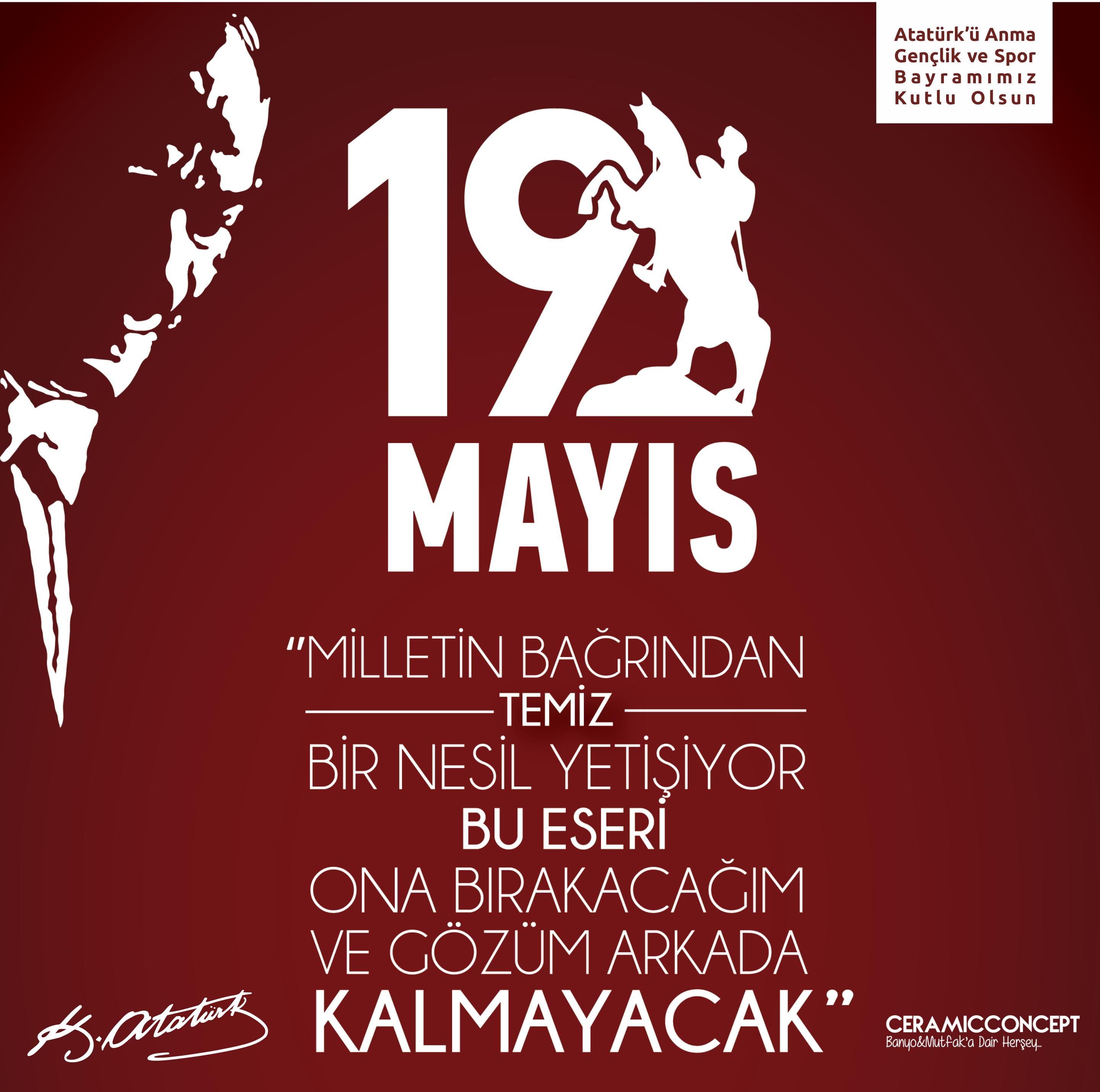 #19Mayıs1919 #GençlikBayramı #KutluOlsun #GururlaNiceYıllara