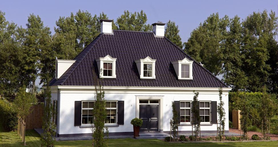 Notariswoning vrijstaande woningen pinterest huizen for Huizen architectuur