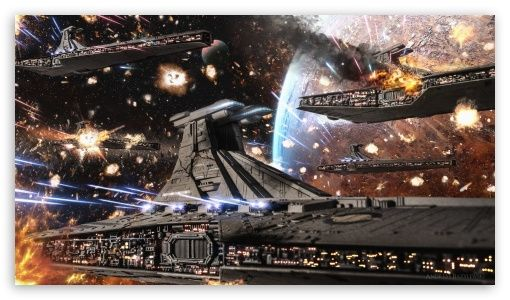 Star Wars Clone Wars Republic Venator Fleet Wallpaper Star Wars Wallpaper Star Wars Spaceships Star Wars Ships