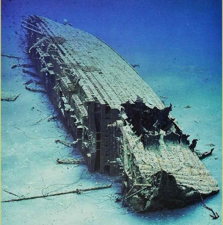 затонувший корабль титаник фото высокие сапоги голенищем