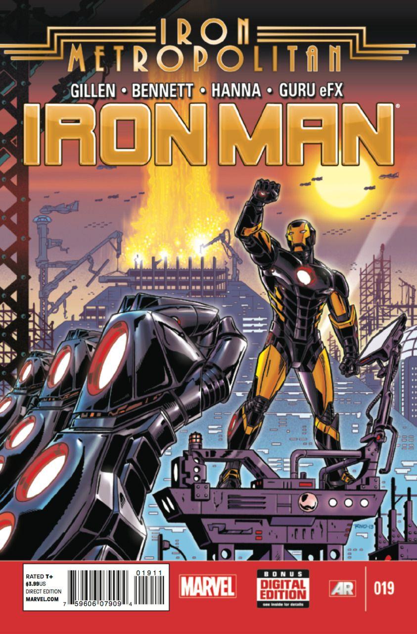 Iron Man Vol. V # 19 by Paul Rivoche