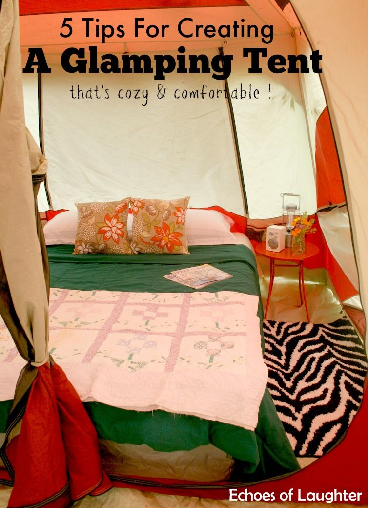 Photo of How To Create A Camping Bedroom – Echoes of Laughter