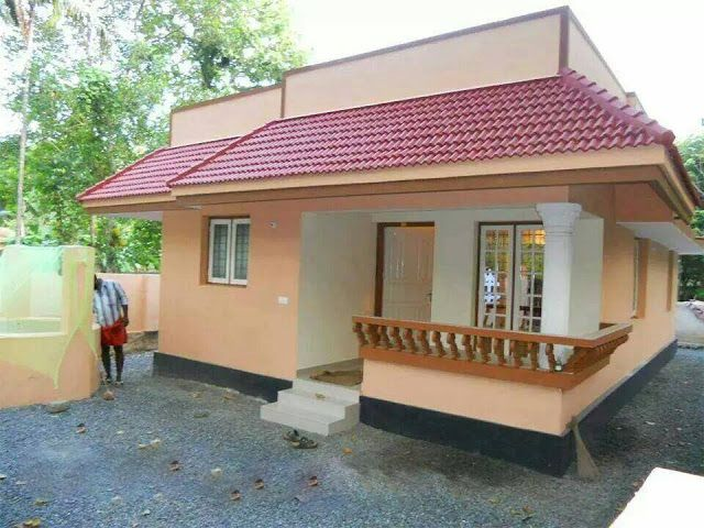 Very Low Budget 3 Bedroom Kerala Home Free Plan Low Budget Kerala Home Plans Kerala 3 Bedroom Home Kerala House Design Free House Plans House Outside Design
