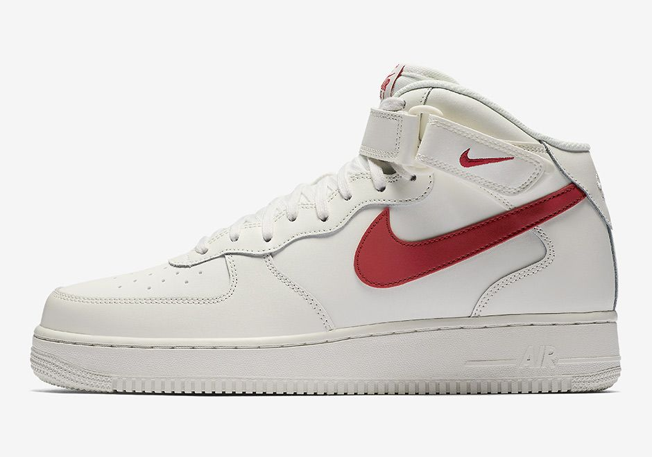 Nike Air Force 1 Mid 07 Sneakers Shoes High Trainers White 315123 126