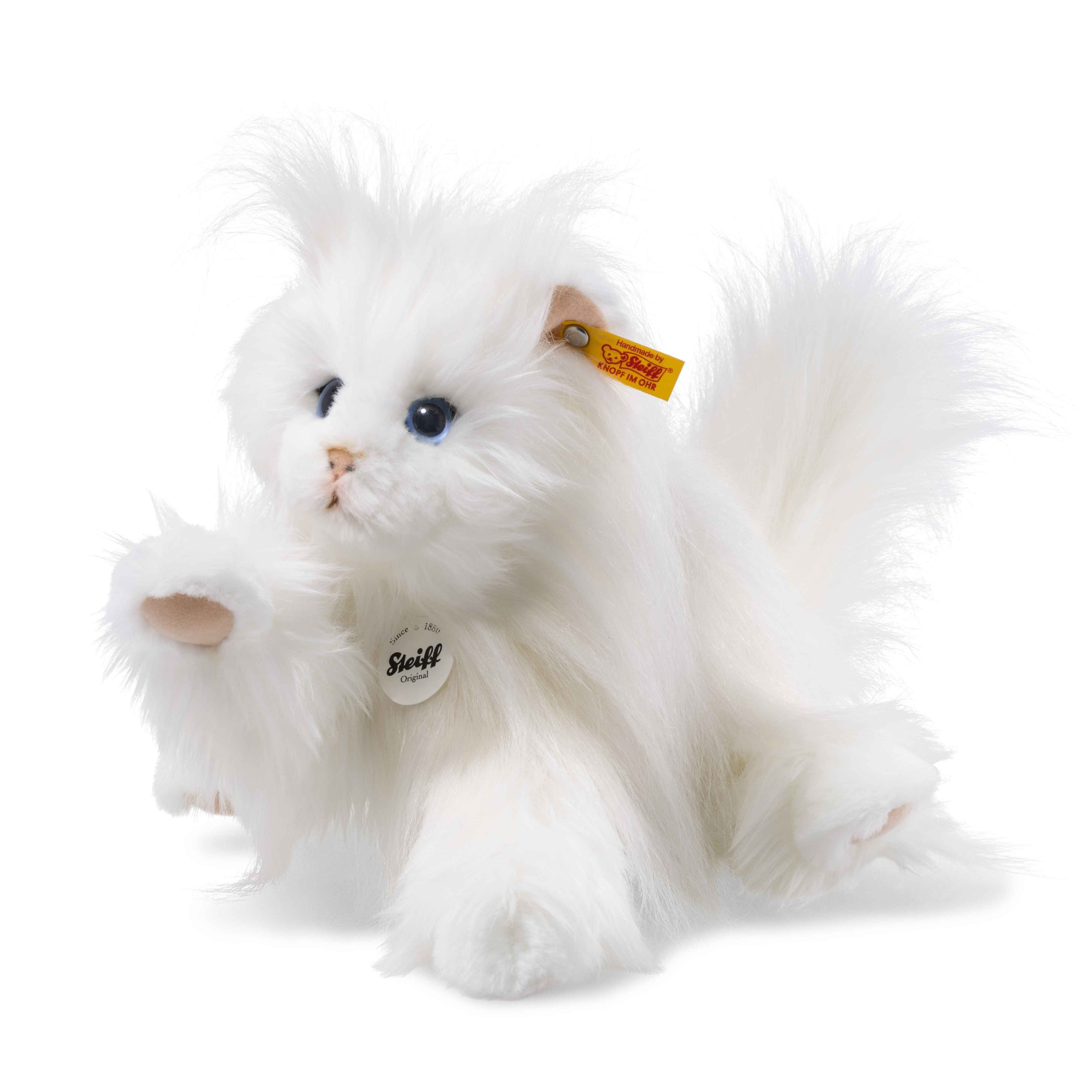 Steiff 099243 Princess Persian Cat with FREE Gift Box