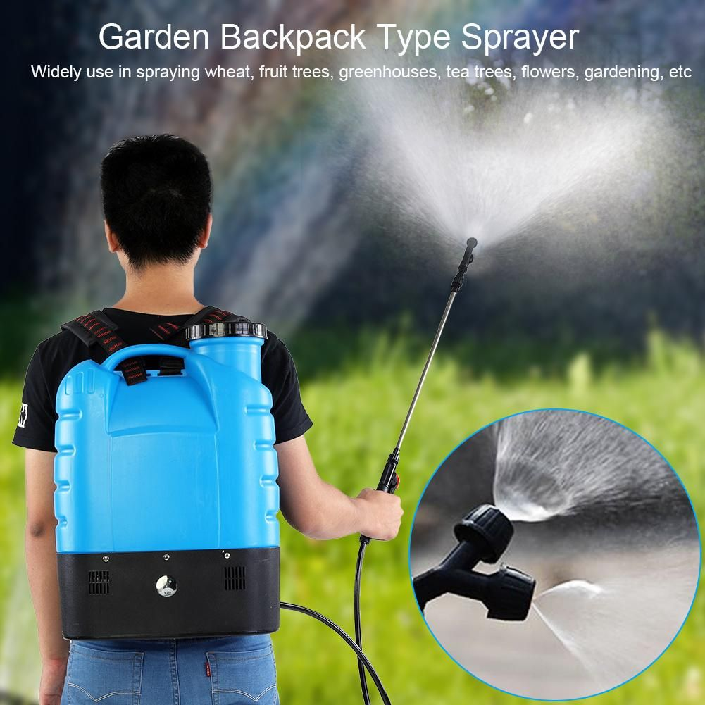 Recomeneded Ejoyous 16l Electric Backpack Type Agricultural High Pressure Sprayer Gardening Tool 110v Us Plug Garden Backpack Sprayer Garden Spray Pressure Bo Sprayers Electric Water Pump Spray Bottle