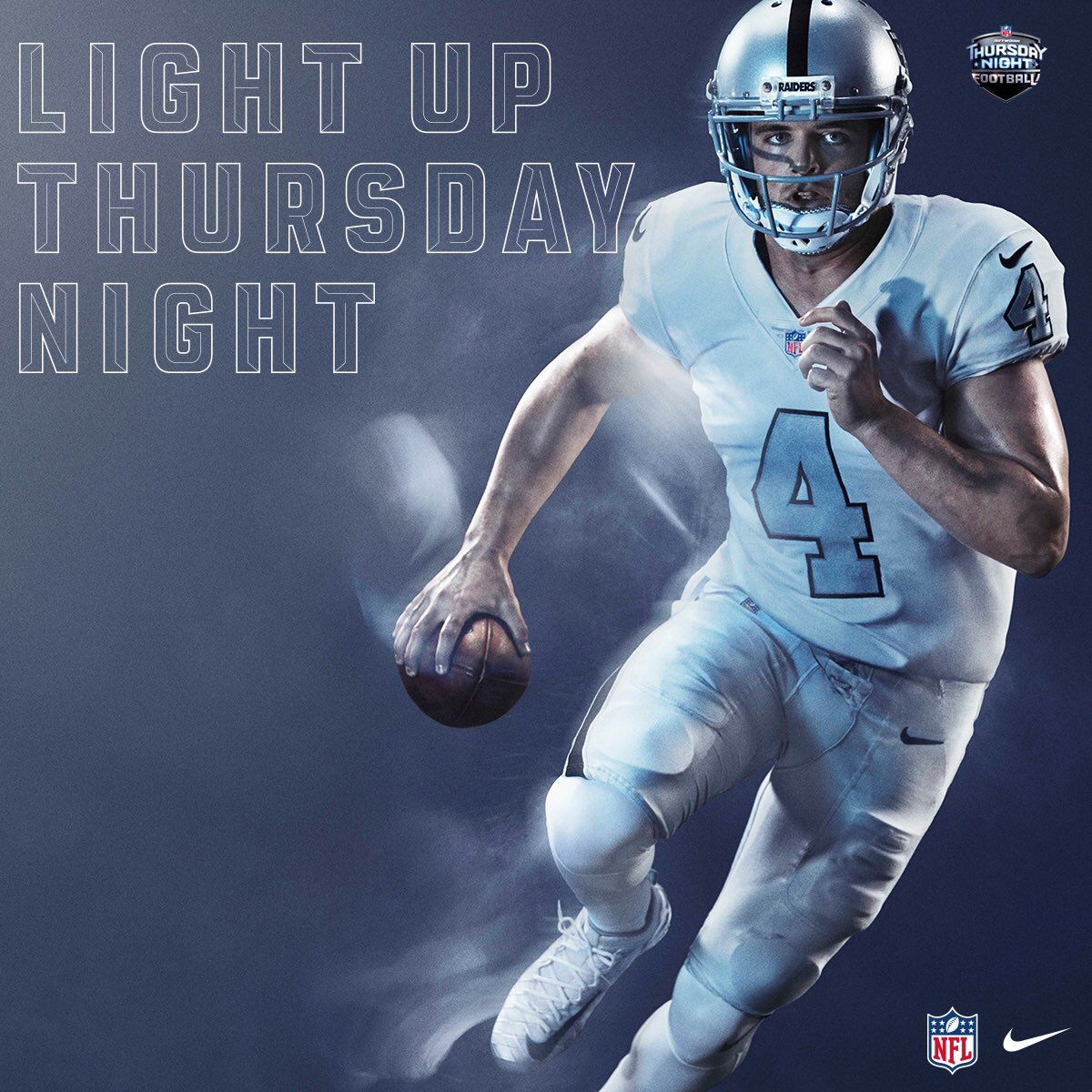 cheap for discount e7ed9 5af24 Power Ranking all 32 NFL Color Rush Uniforms#30. Oakland ...