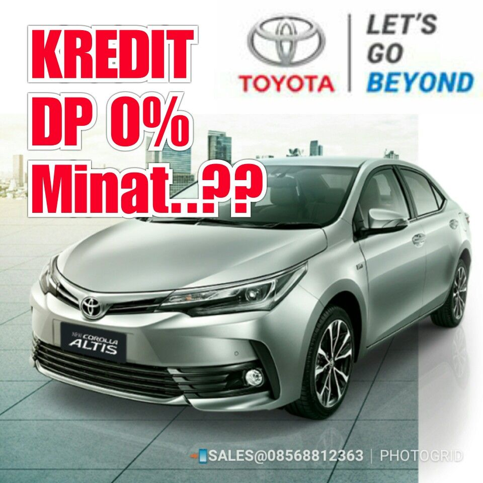 Kredit Mobil Toyota Corolla Bekasi Kredit Mobil Toyota Corolla 2019