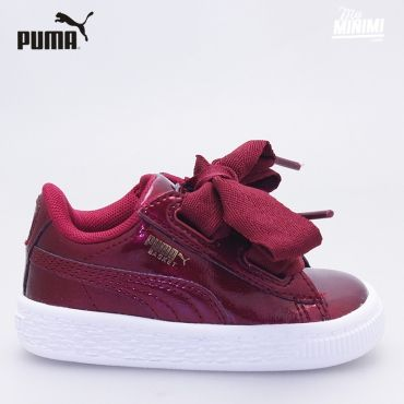 get online exquisite design cheap price Photo Puma Heart Patent - Baskets enfant du 19 au 27 - Glam ...