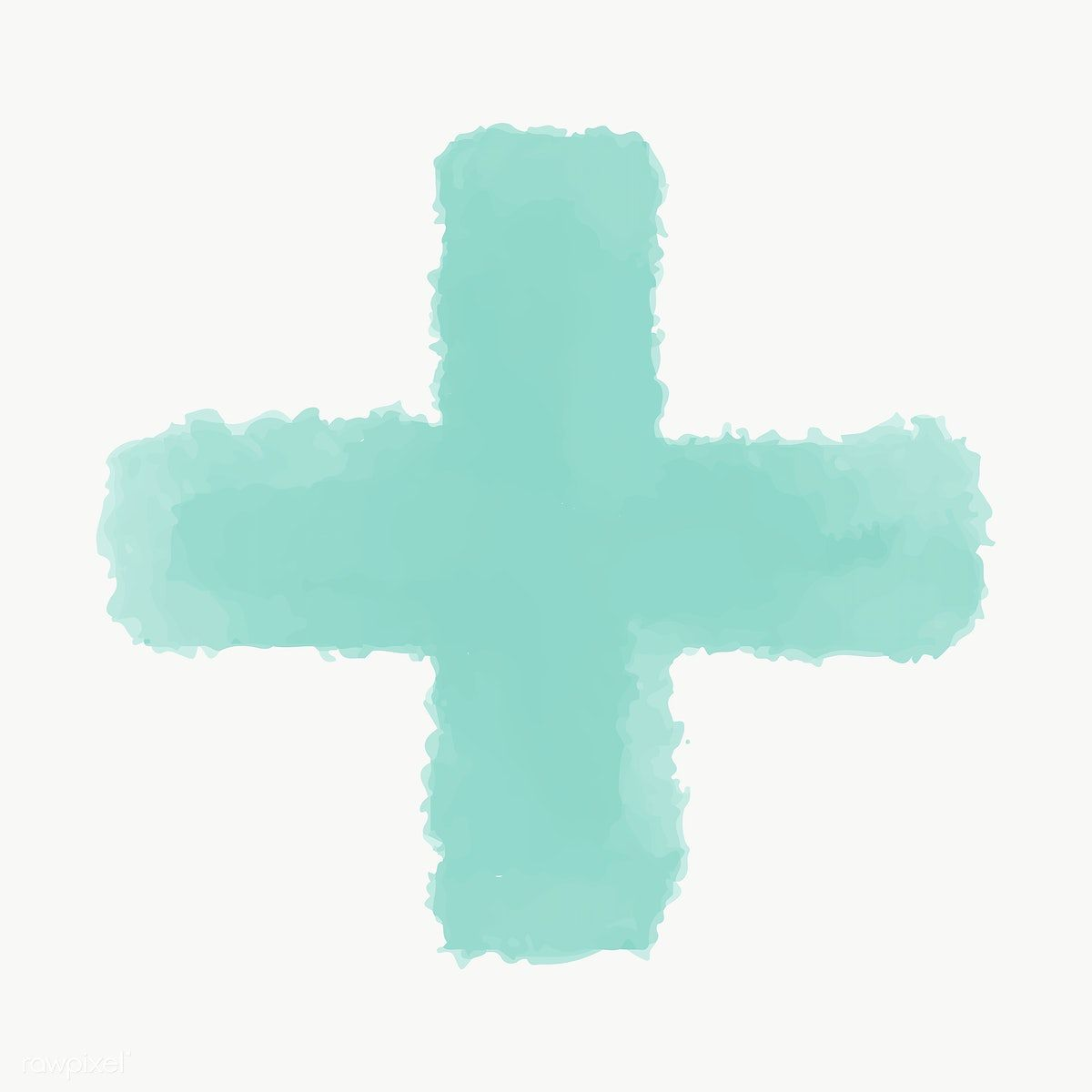 Green Watercolor Cross Geometric Shape Transparent Png Free Image By Rawpixel Com Ningzk V Green Watercolor Geometric Shapes Watercolor Heart
