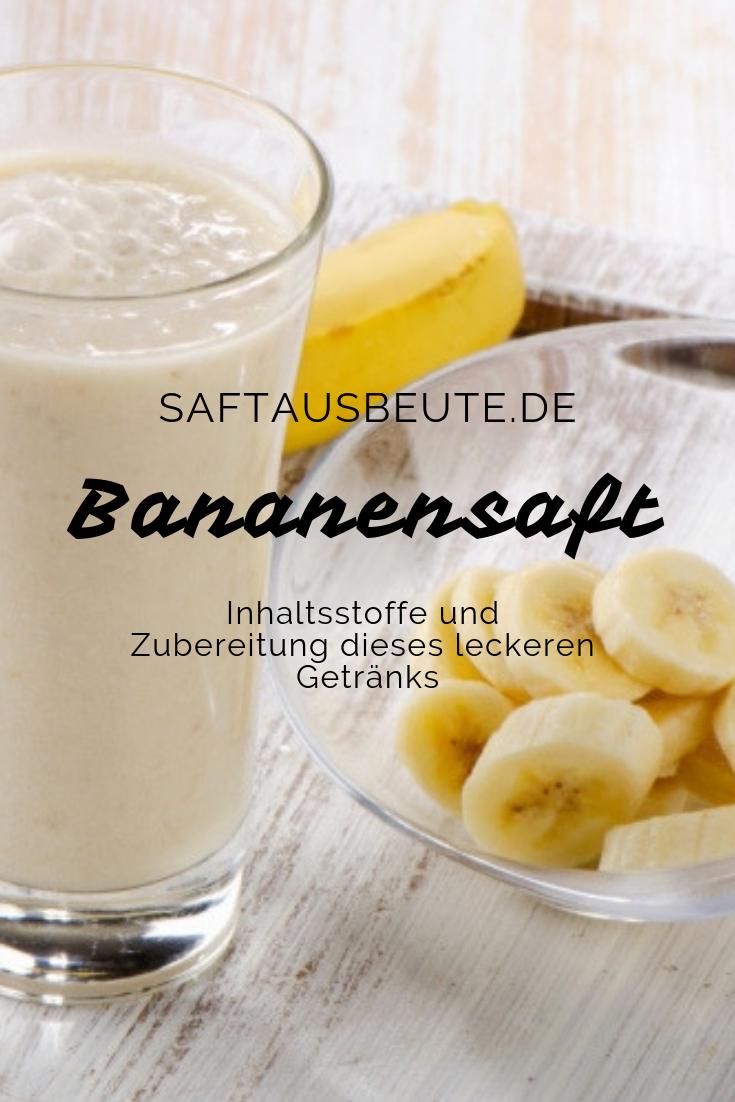 20 Fakten zu Bananensaft › 20 Fakten zu Bananensaft