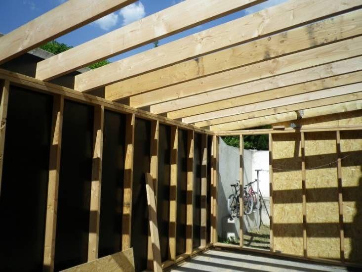 Construction du0027une extension à ossature bois de 20m2 à Aix-en - prix d une construction de maison