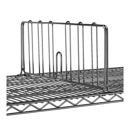 Metro Super Erecta Glass 36 X 8 H Shelf Divider By Metro 24 30 Snap In Place Smoked Glass Finish Width 36 Height 8 Weight 3 75 Lbs Metro Super Er