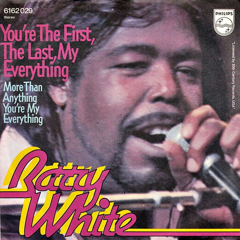 Barry White You Re The First The Last My Everything 1974