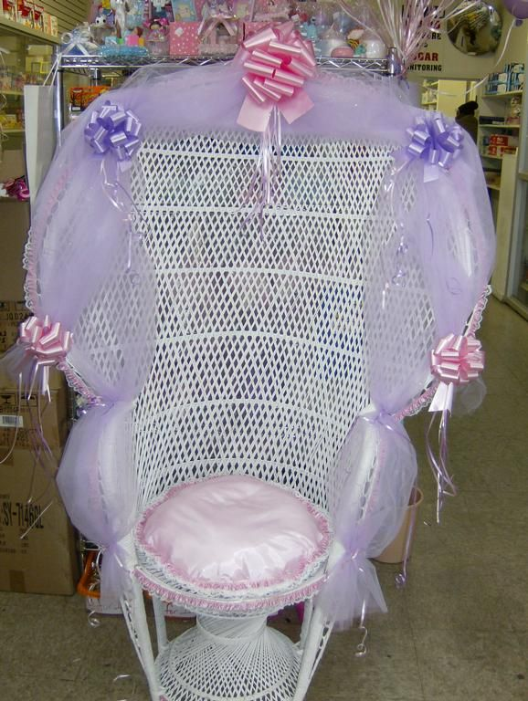Baby Shower Chair Rental 3