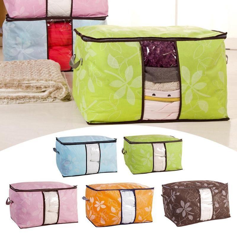 Quilt Storage Bag Home Clothes Quilt Pillow Blanket Storage Bag Clothing Bedding Blanket Organ Storage Bags Organization Quilt Storage Storage Bags For Clothes