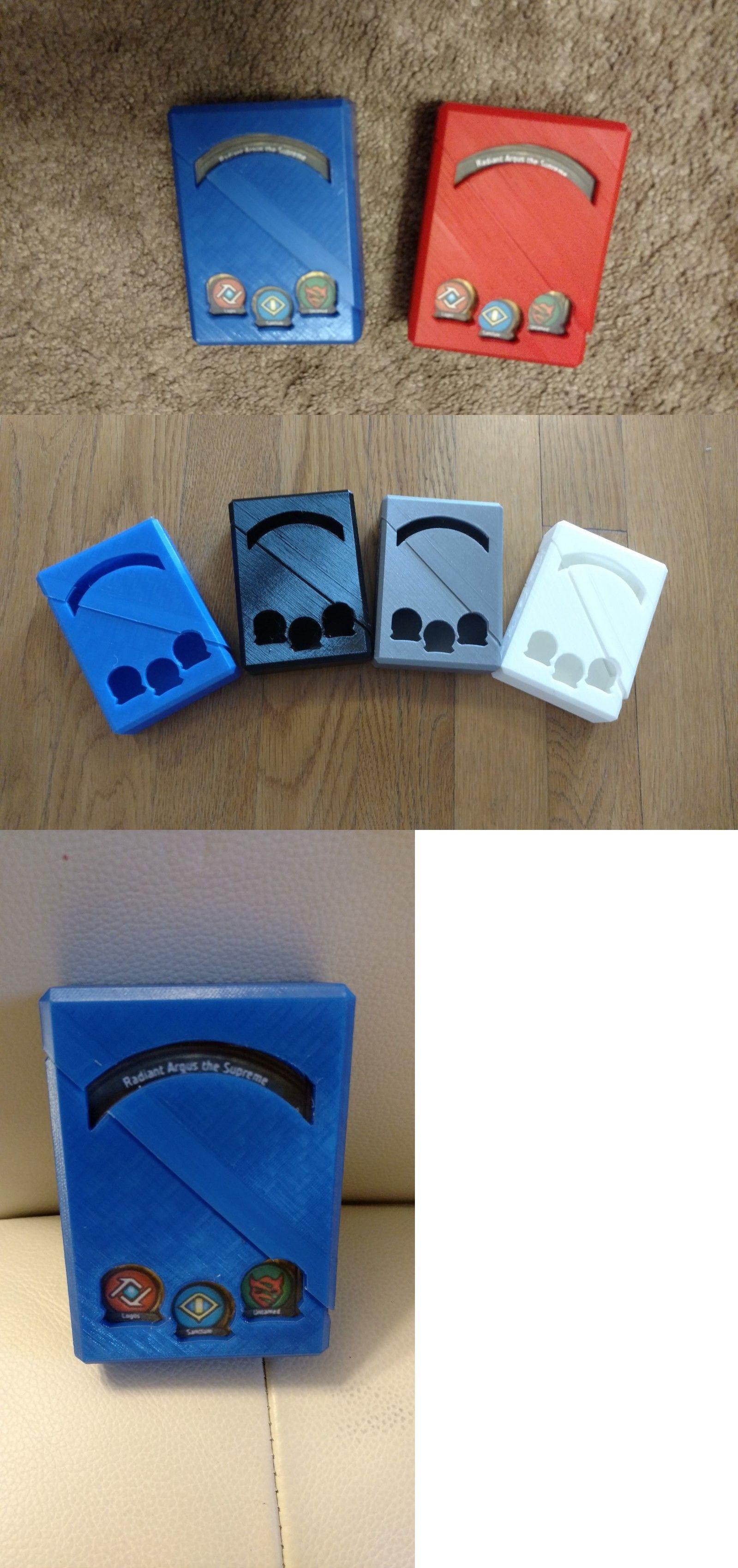 Deck Box NEW Ultimate Guard Flipside Flip Deck Case Leather Blue 100