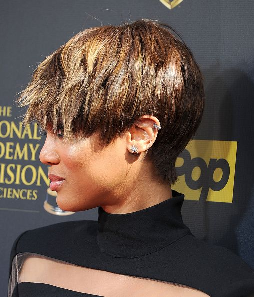 Tyra Banks The 42nd Annual Daytime Emmy Awards Short Hair Styles 2014 Short Sassy Hair Tyra Banks Short Hair