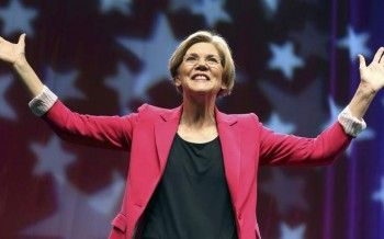 "Elizabeth Warren gets unheard of 95 of delegates for Massachusetts Senate Nomination.  MassLive reports, ""We've been endorsing candidates this way for 30 years and we've never had a candidate get 86 percent of the delegates votes,"" said party Chair John Walsh, referencing the minimum15 percent support threshold Marisa DeFranco needed to appear on the party's primary ballot."
