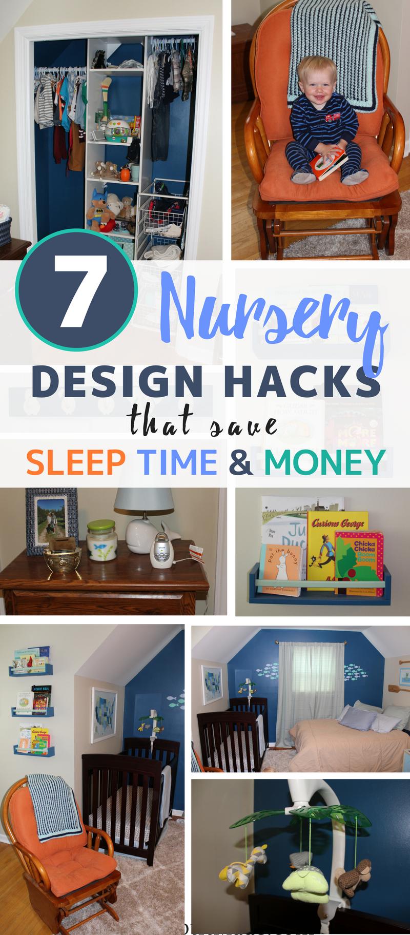 7 Nursery Design Hacks that Save Sleep, Time and Money | Mom's Got it Made  | Nursery design, Baby sleep problems, Design hack